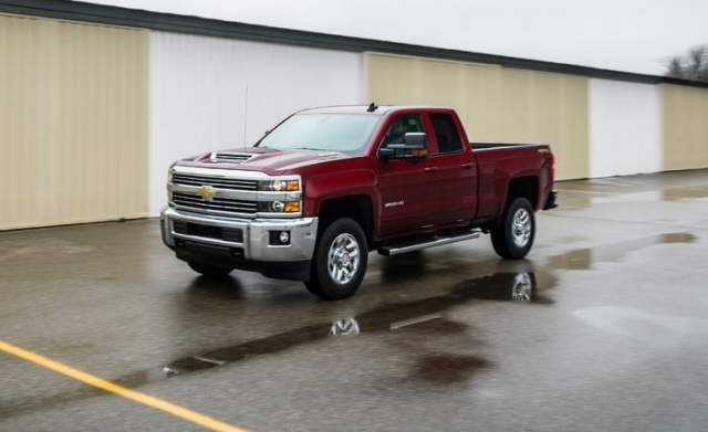 2018 Chevy Silverado 2500HD Reviews and Rating - 2018 ...