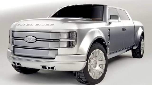 2018 ford super chief rumors about production concept. Black Bedroom Furniture Sets. Home Design Ideas