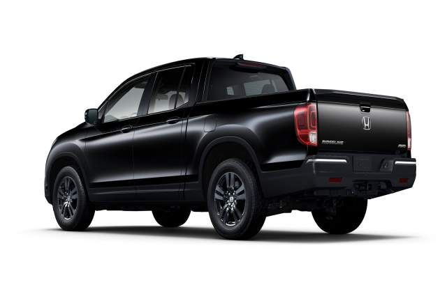 2018 honda ridgeline rts rt sport and black edition 2018 2019 and 2020 pickup trucks. Black Bedroom Furniture Sets. Home Design Ideas