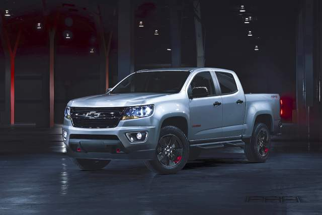 2018 Chevy Colorado Redline Edition of the ZR2 - 2018 ...