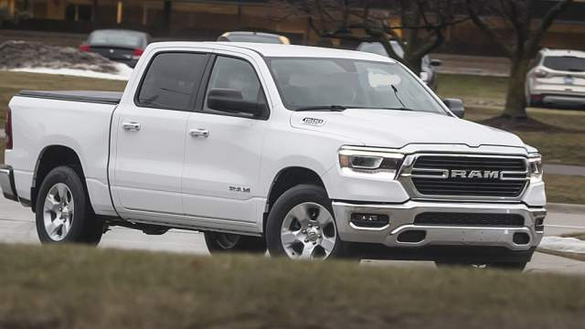2019 RAM 1500 All Trim Options Spied - 2018, 2019 and 2020 ...